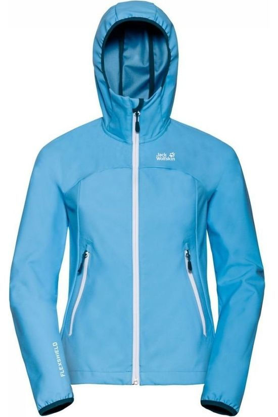 Jack Wolfskin Softshell Eagle Peak Bleu Clair