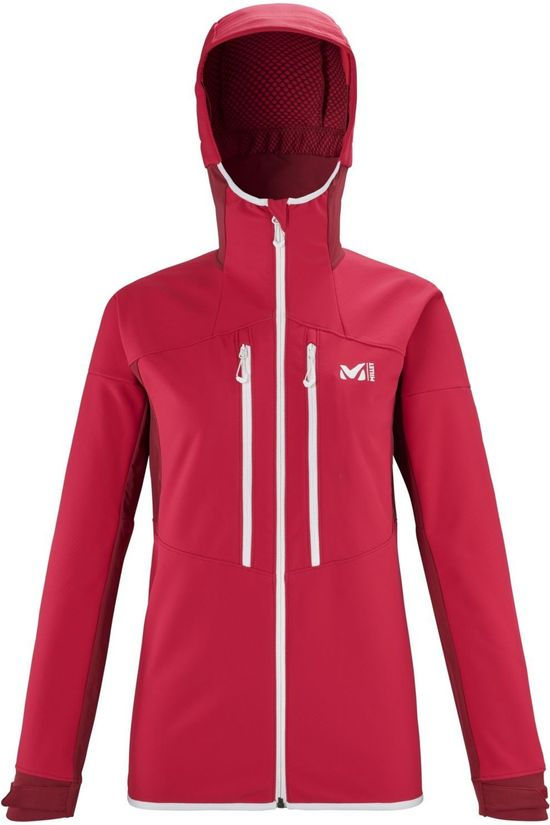 Millet Softshell Geilo Shield Rouge/Rouge Moyen