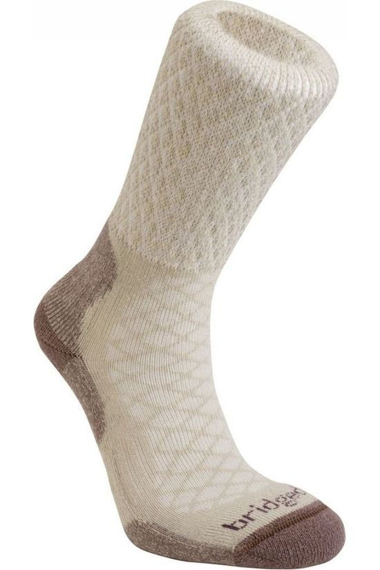 Bridgedale Sock Hike Merino Comfort Lightweight Sand Brown