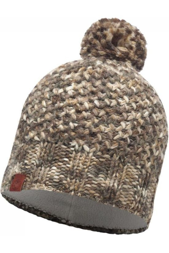 Buff Bonnet Lifestyle Knitted Ecru/Taupe