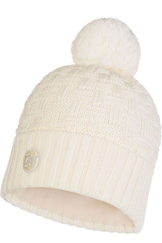 Buff Bonnet Lifestyle Knitted Hat Airon Cru Ecru