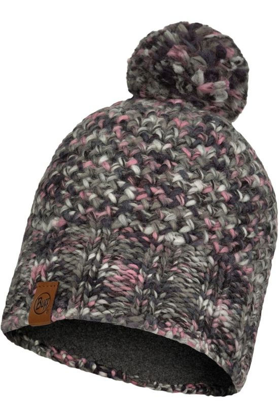 Buff Bonnet Lifestyle Knitted Hat Margo Castlerock Grey Gris Clair Mélange/Assorti / Mixte