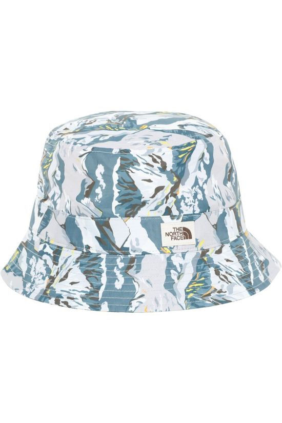 The North Face Hoed Liberty Bucket Wit/Lichtgrijs