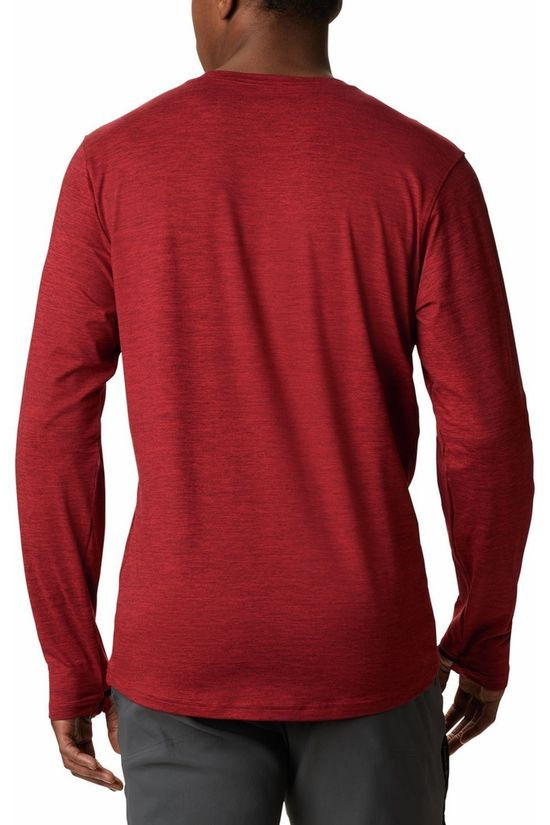 Columbia T-Shirt Tech Trail Crew II red
