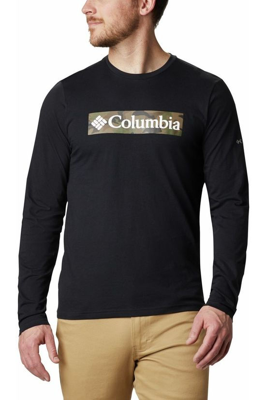 Columbia T-Shirt Lookout Point Graphic Noir/Ass. Camouflage