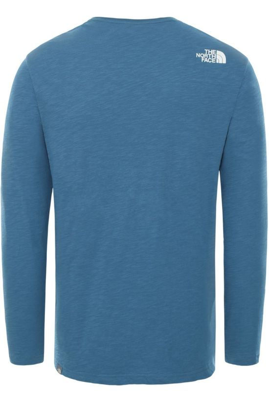 The North Face T-Shirt Tissaack Blauw/Logo