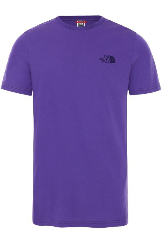 The North Face T-Shirt Nse Simple Dome Paars