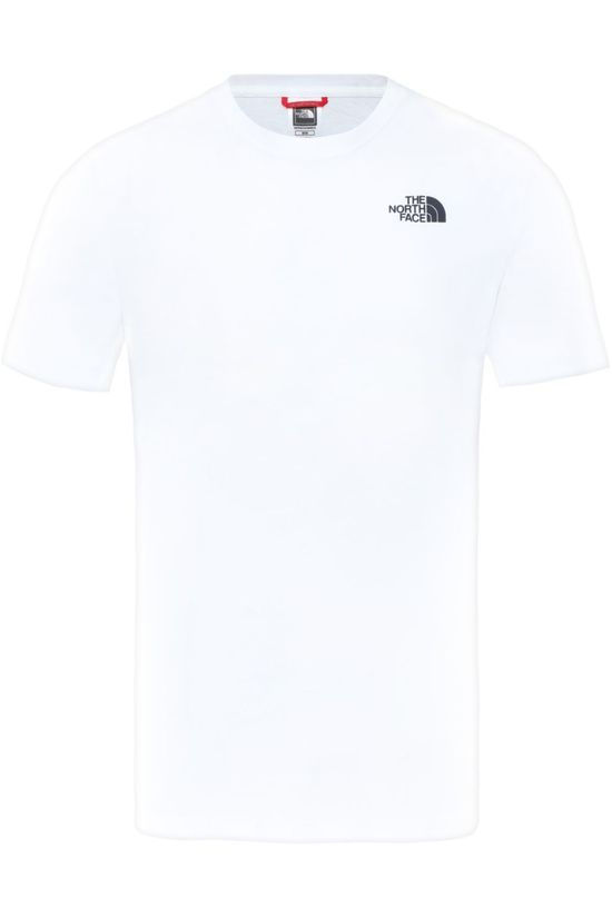 The North Face T-Shirt M S/S Redbox Celebtration Tee Blanc/Noir