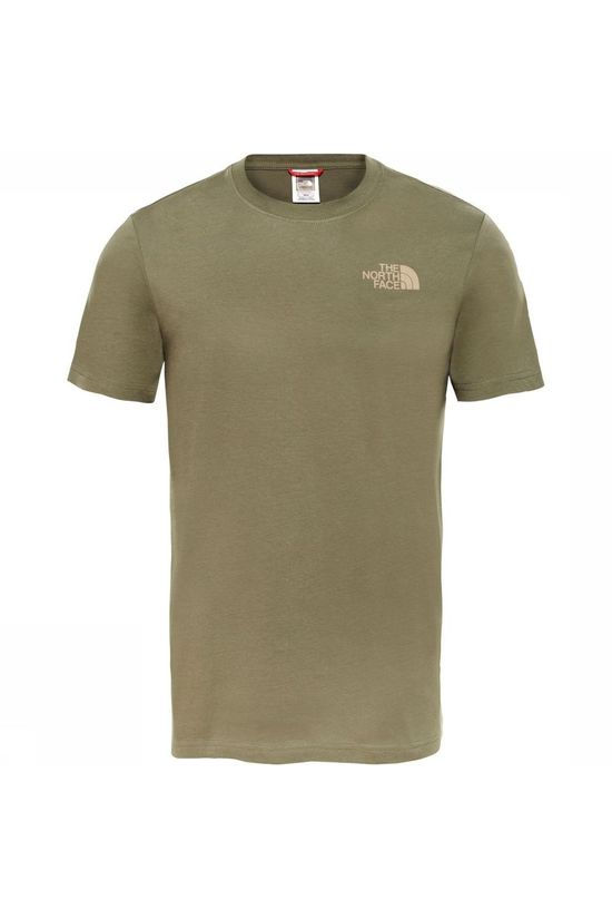 The North Face T-Shirt M S/S Redbox Celebtration Tee mid khaki