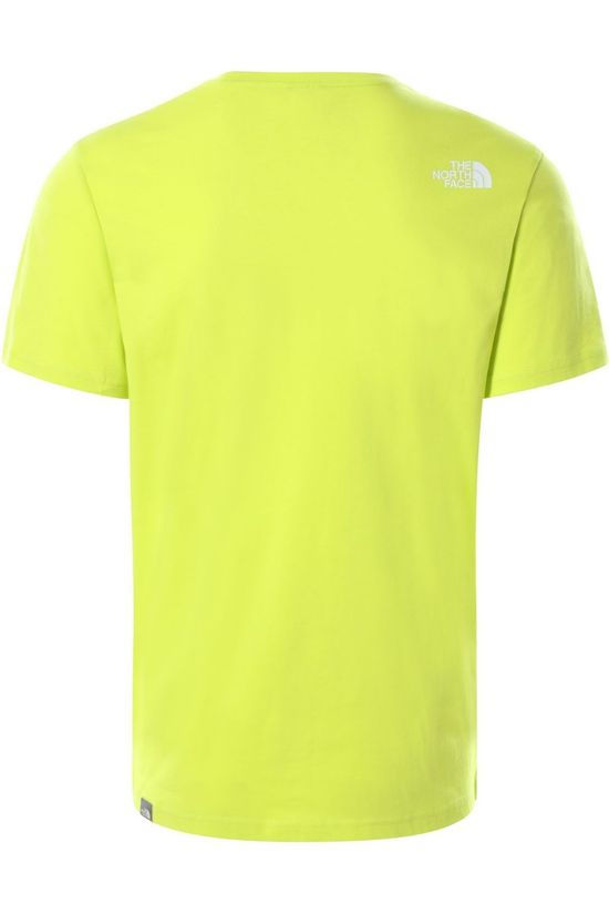 The North Face T-Shirt Nse Lichtgroen