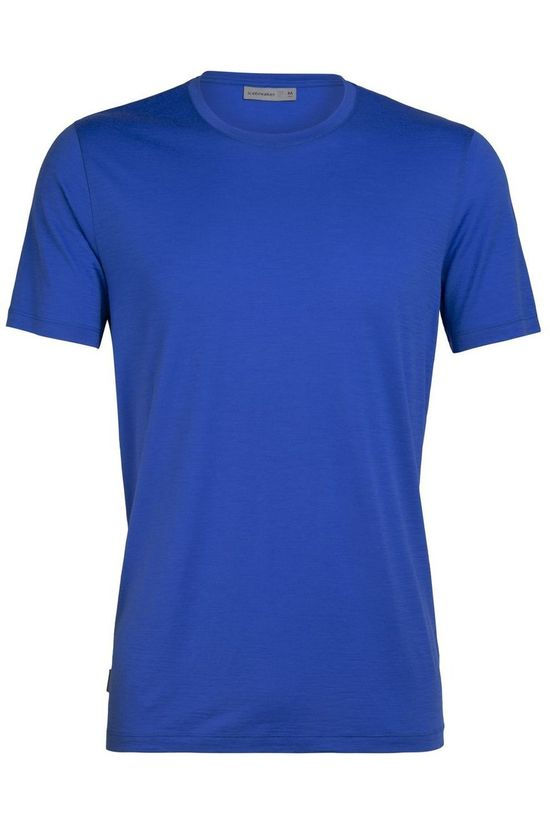 Icebreaker T-Shirt Tech Lite Ss Crewe Royal Blue/No colour