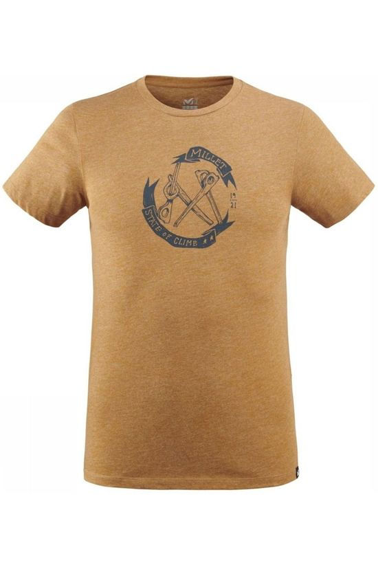 Millet T-Shirt Top Gear Kameelbruin