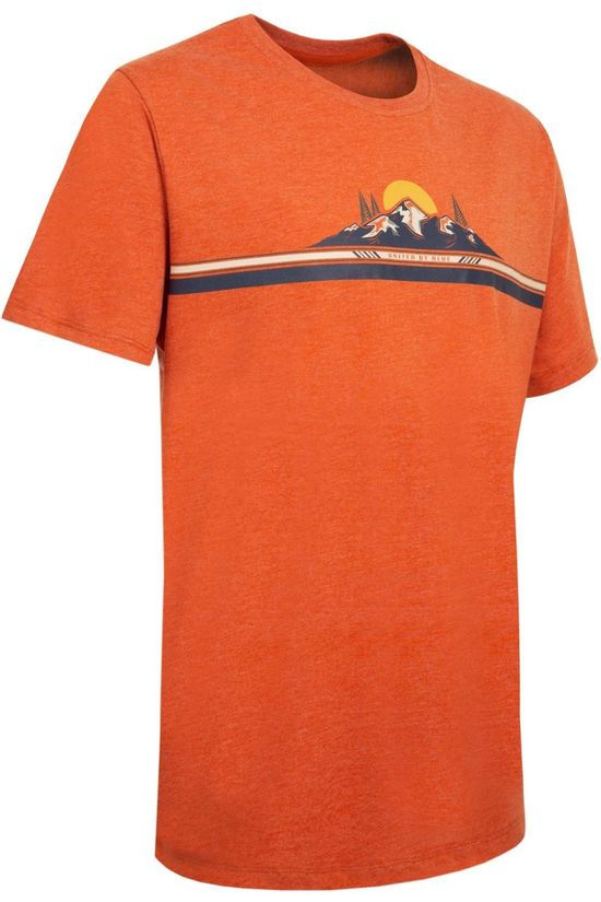 United by Blue T-Shirt 55/45 To The Mountains Oranje