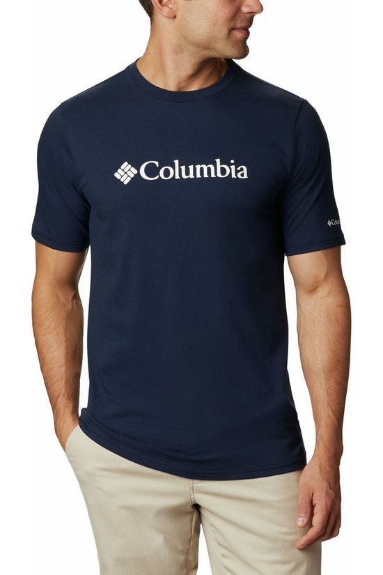 Columbia T-Shirt Csc Basic Logo Navy Blue