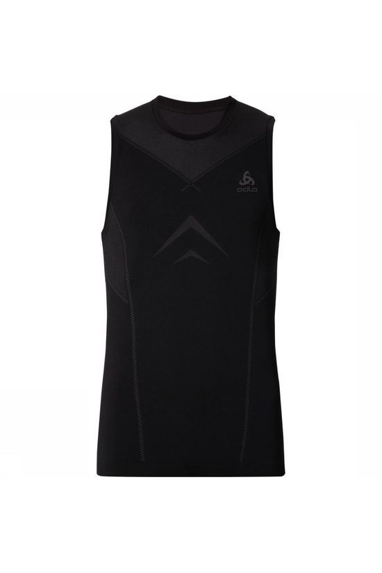 Odlo T-Shirt Singlet Crew Neck Evolution Light Zwart