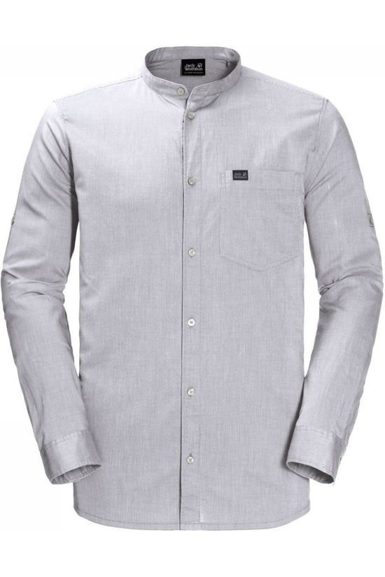 Jack Wolfskin Shirt Indian Springs off white