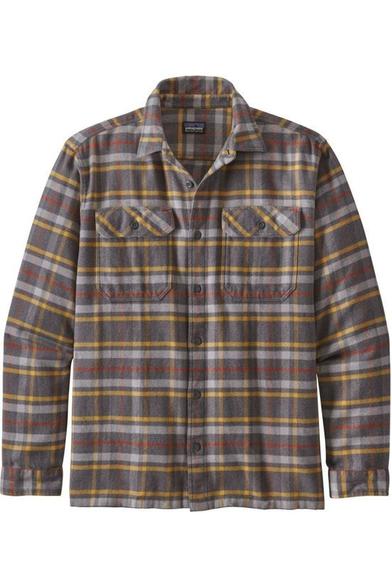 Patagonia Shirt Fjord Flannel Dark Grey/Assorted / Mixed