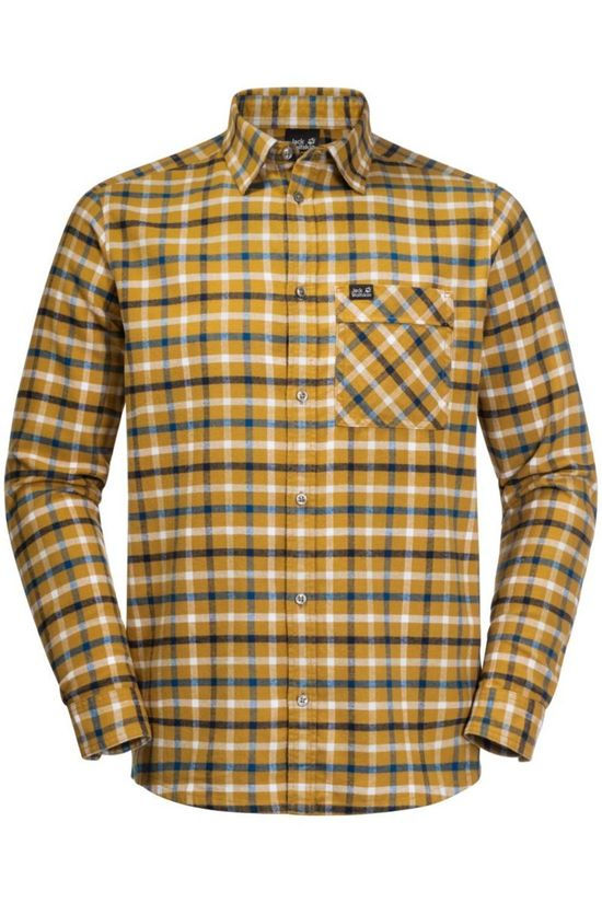 Jack Wolfskin Shirt Fraser Island Yellow/Assorted / Mixed