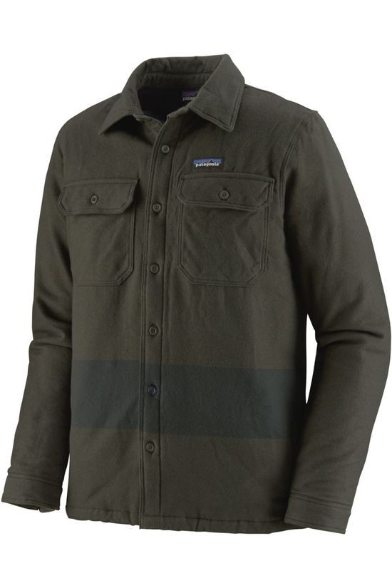 Patagonia Shirt Insulated Fjord Flannel dark green