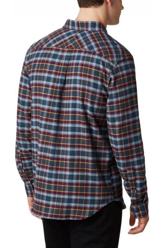 Columbia Shirt Flare Gun Stretch Flannel dark purple/mid blue