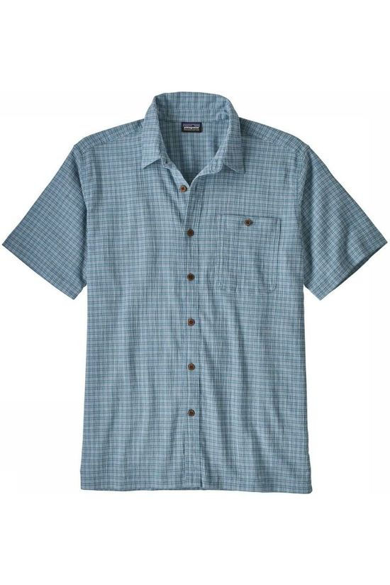 Patagonia Shirt A/C Light Blue/Ass. Geometric
