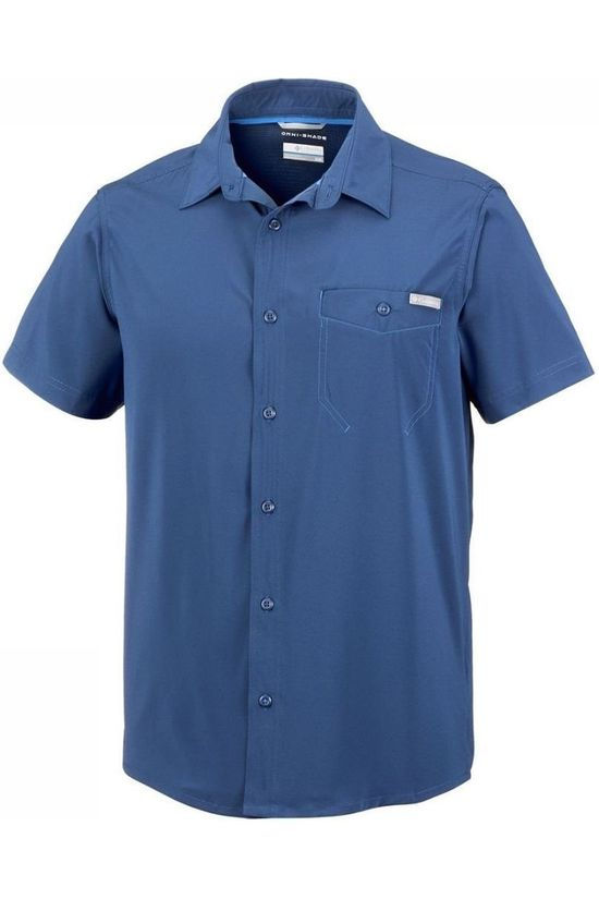 Columbia Shirt Triple Canyon Solid mid blue