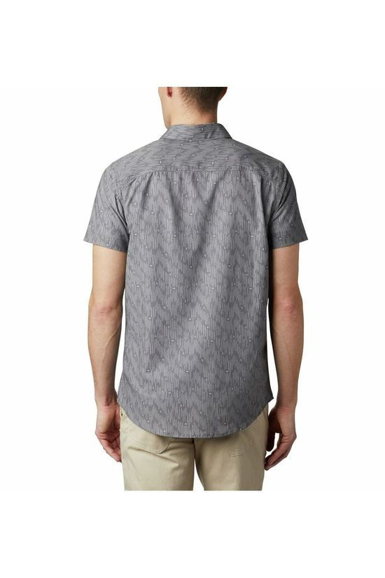 Columbia Shirt Colu Triple Canyon SS Mid Grey/Assorted / Mixed