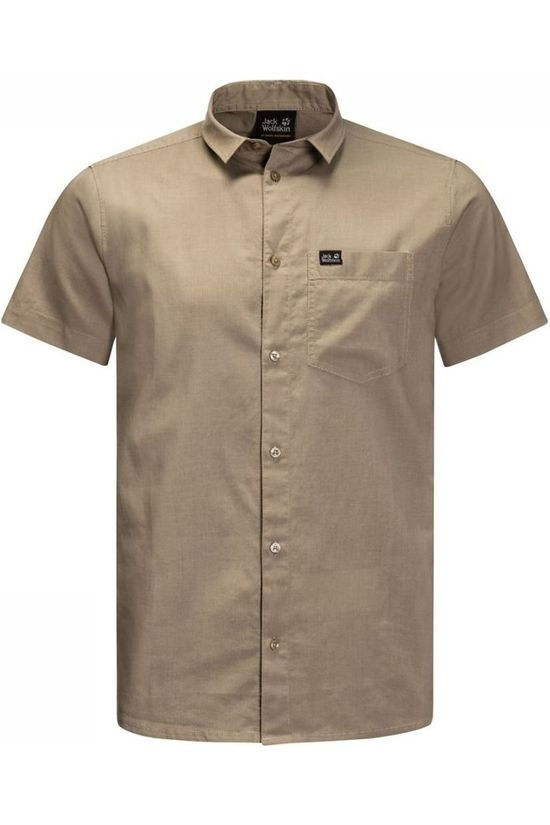 Jack Wolfskin Shirt Nata River Sand Brown