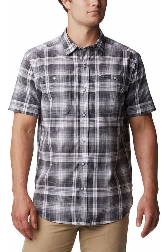 Columbia Shirt Leadville Ridge II mid grey/white