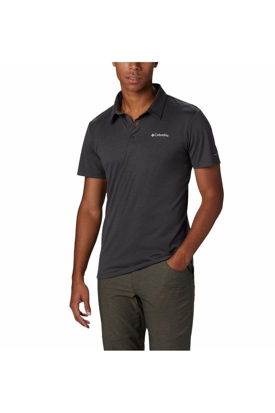 Columbia Polo Triple Canyon Tech Donkergrijs