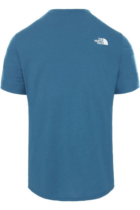 The North Face Polo Active Trail Blauw/Logo