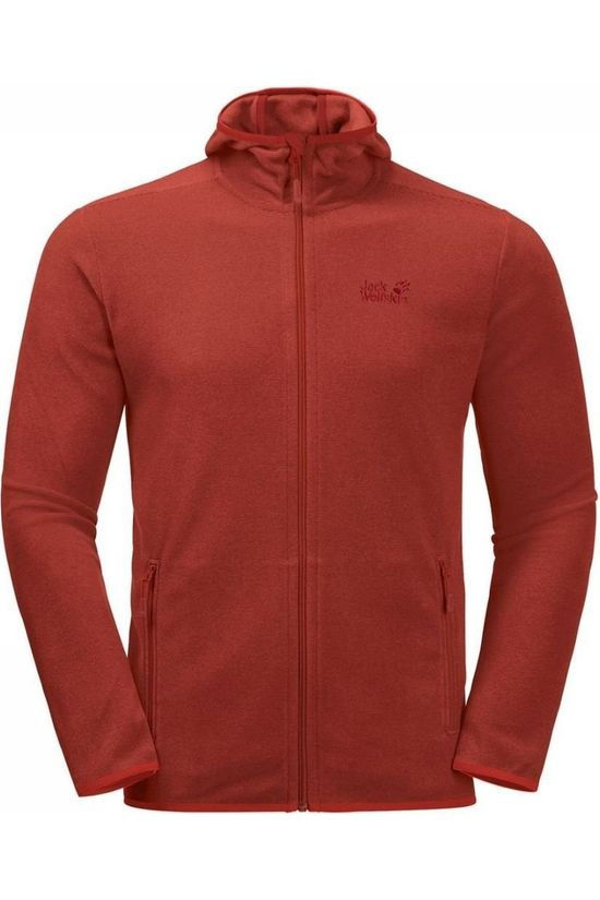 Jack Wolfskin Fleece Arco Fz rust