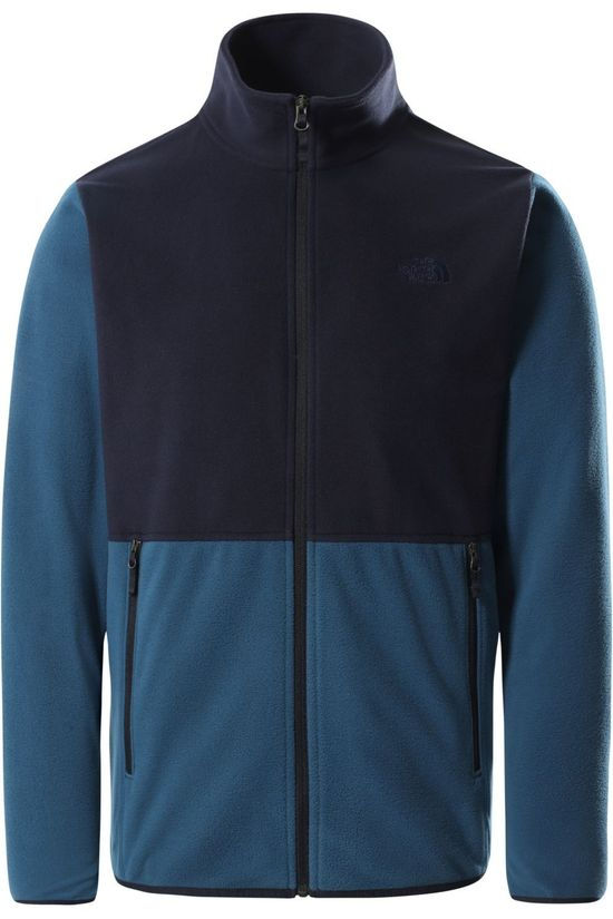 The North Face Fleece Tka Glacier Fz Dark Blue/Navy Blue