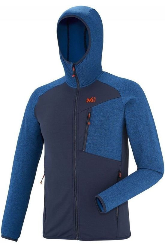 Millet Fleece Seneca Tecno dark blue