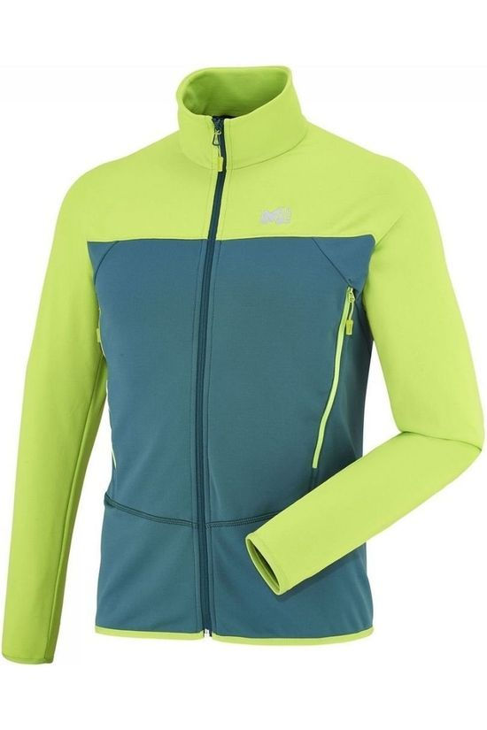 Millet Fleece Technostretch Mid Green/Lime Green