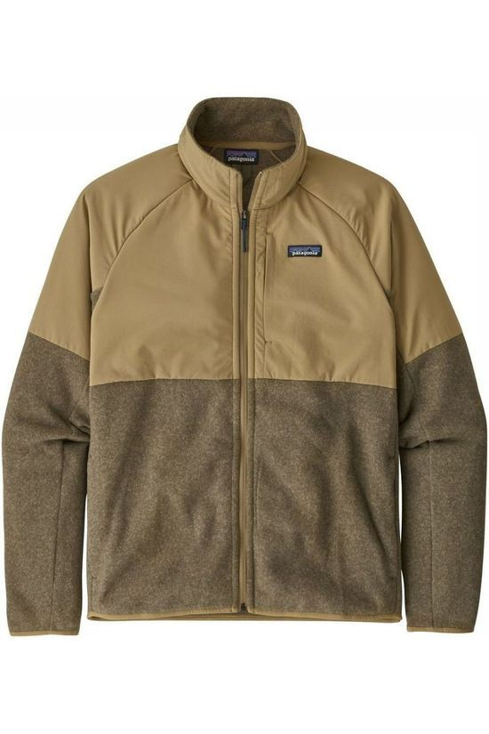 Patagonia Fleece Lightweight Shelled Bs Zandbruin