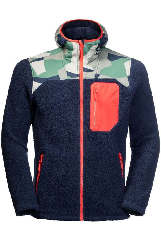 Jack Wolfskin Fleece 365 Hideaway Dark Blue/Assorted / Mixed