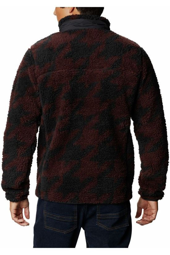 Columbia Fleece Winter Pass Print Donkerrood/Assorti / Gemengd