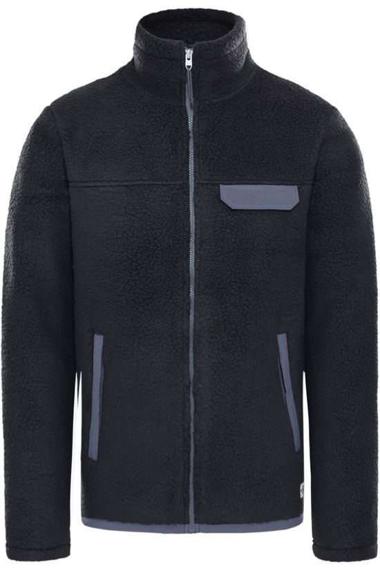 The North Face Fleece Cragmont Fleece Fz black/dark grey