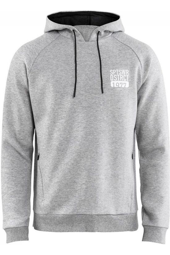 Craft Pullover District Hood light grey