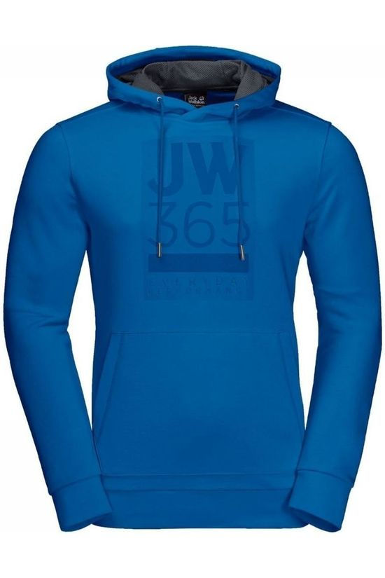 Jack Wolfskin Pullover 365 Hoody royal blue