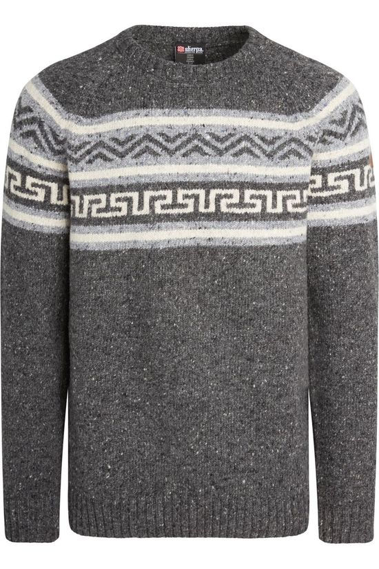 Sherpa Pullover Dhonu Sweater dark grey