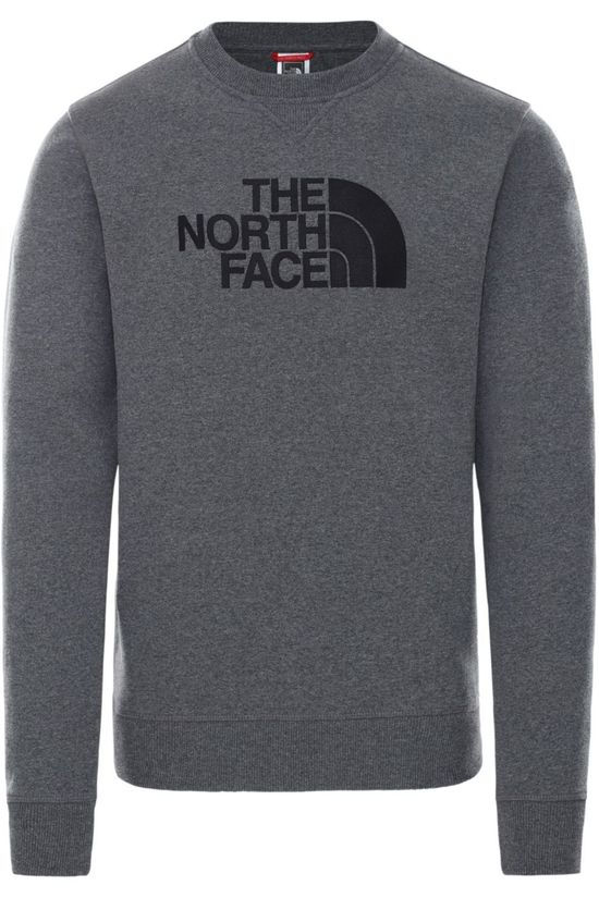 The North Face Trui Drew Peak Lichtgrijs Mengeling