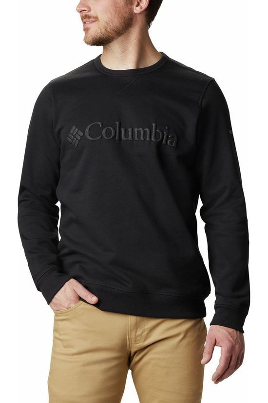 Columbia Pull Logo Fleece Crew Noir