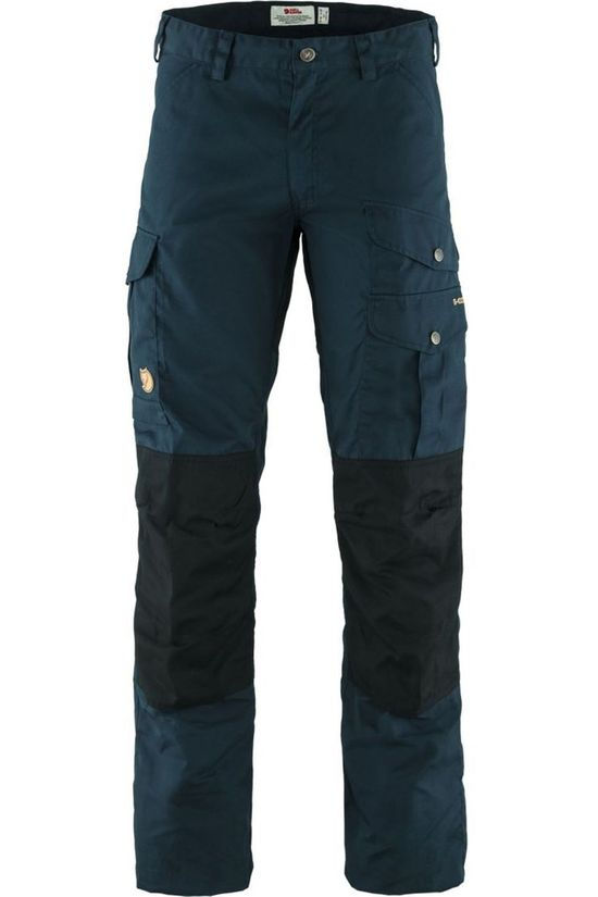 Fjällräven Trousers Barents Pro Navy Blue/Black