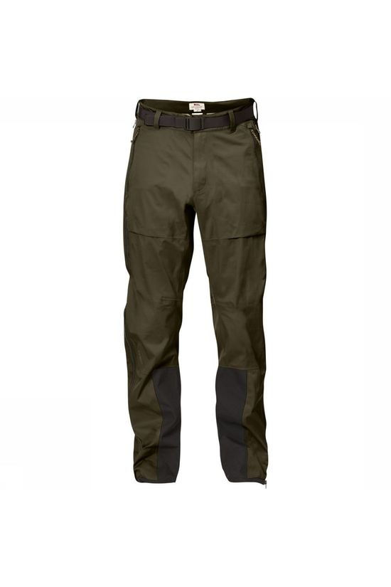 Fjällräven Trousers Keb Eco-Shell dark khaki
