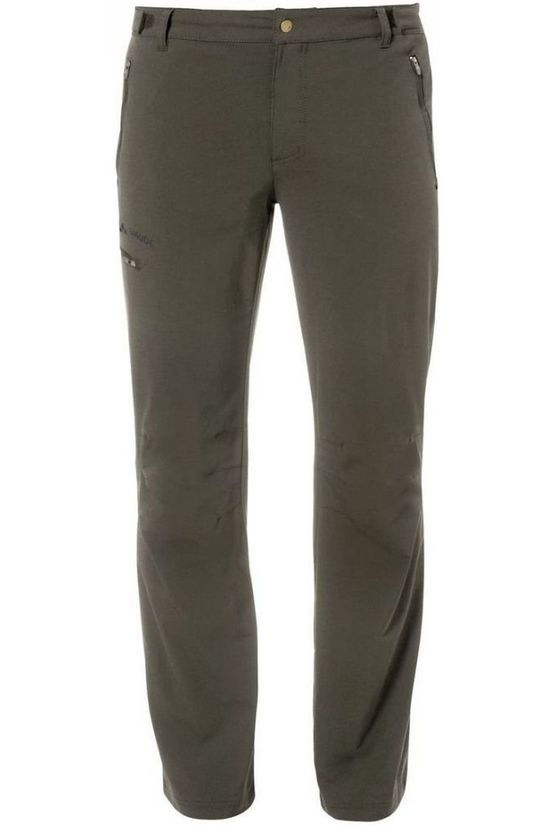 Vaude Trousers Farley Stretch II mid khaki
