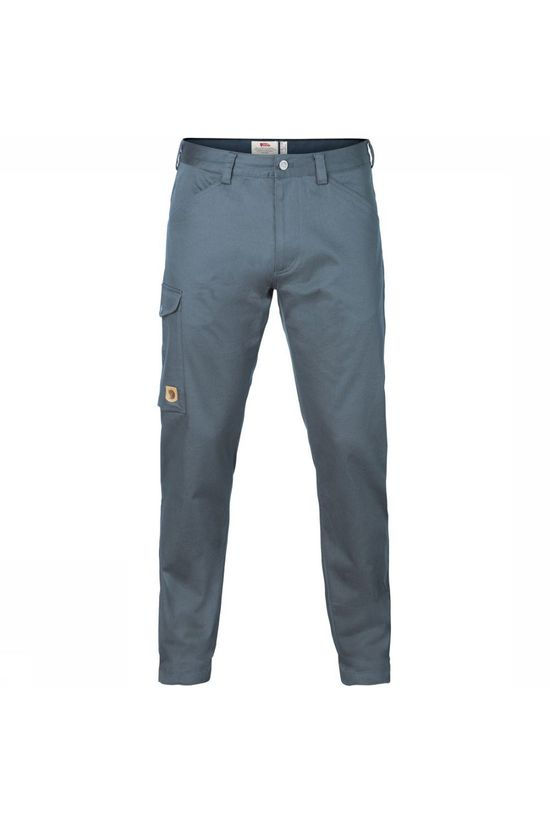 Fjällräven Trousers Greenland Stretch blue