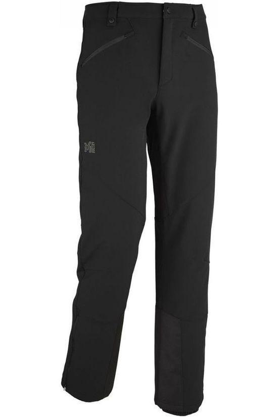 Millet Trousers Track Softshell black