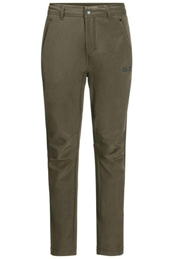 Jack Wolfskin Trousers Zenon Softshell Taupe